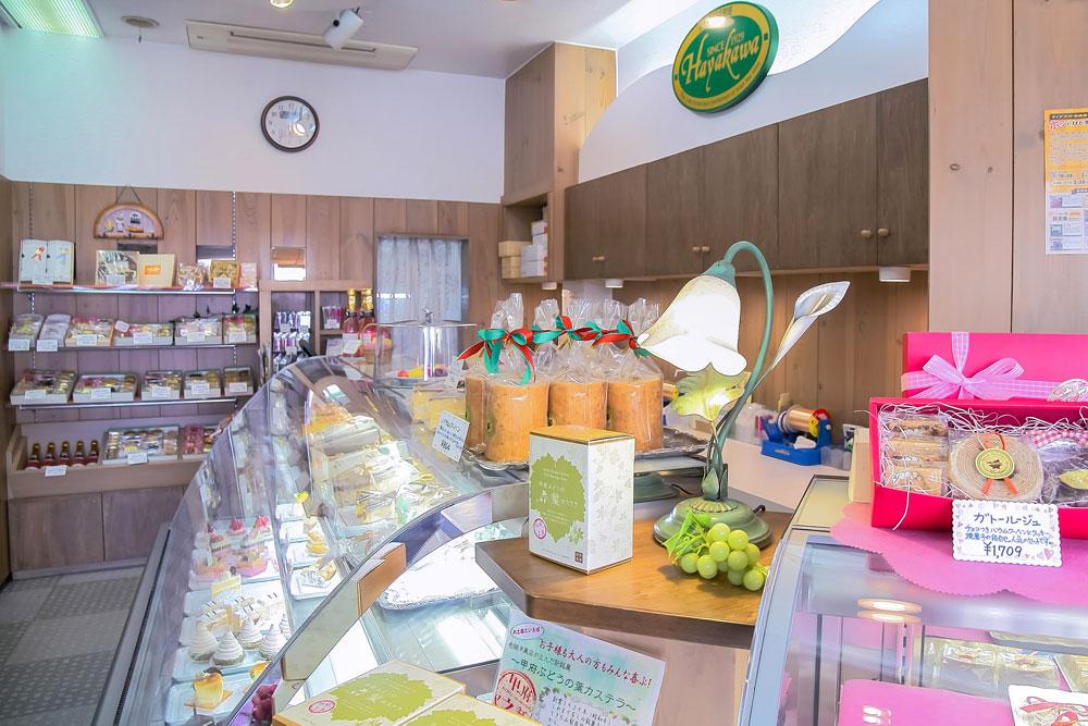 早川ベーカリー 店内の様子