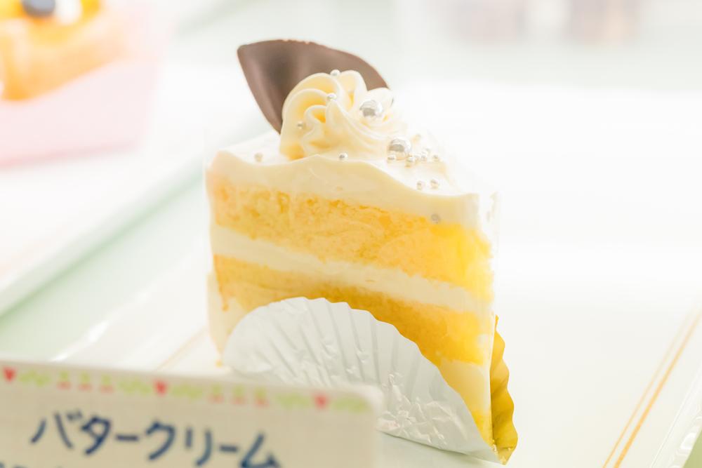 早川ベーカリー バタークリームケーキ